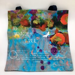 to wander free tote